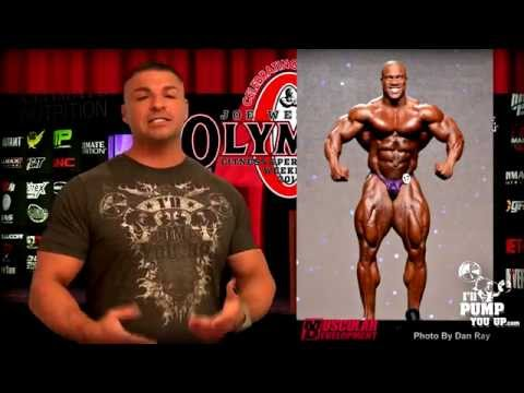 2014 Mr. Olympia Review and Recap Part 8 - Phil and Kai Comparisons