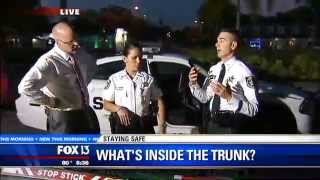 Stay Safe - The insde of a deputy patrol car - FOX 13 News