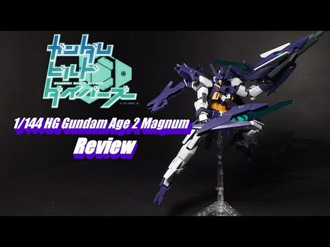 1/144 HG Gundam Age 2 Magnum Review