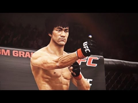 Bruce Lee dans EA Sports UFC Trailer