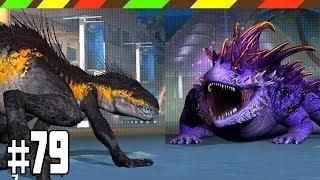 INDORAPTOR VS SALAMANDER 16 - Jurassic World The Games   Khủng Long Bạo Chúa Chiến Đấu 79   DCTE VN