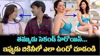 Pawan Kalyan Thammudu Movie Heroine Aditi Govitrikar H**T s**xy bikini Photos | TTM