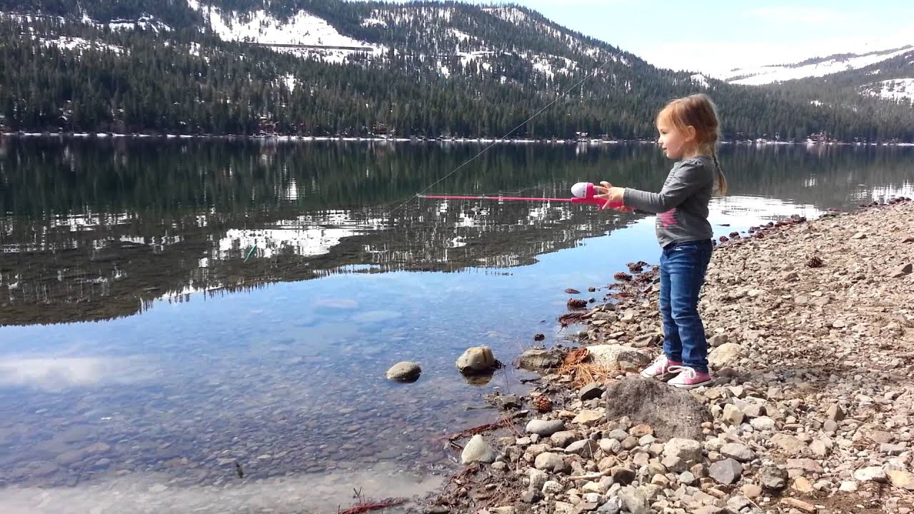Donner Lake Fishing Cami Fishing at Donner Lake
