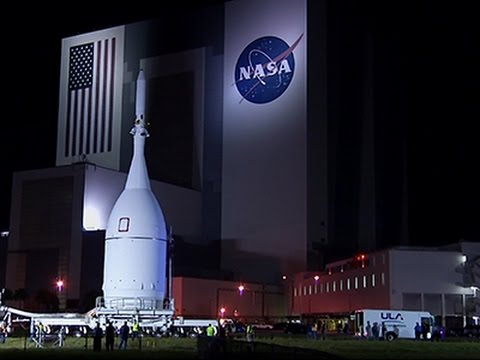 NASA Rolls Out Orion Spacecraft