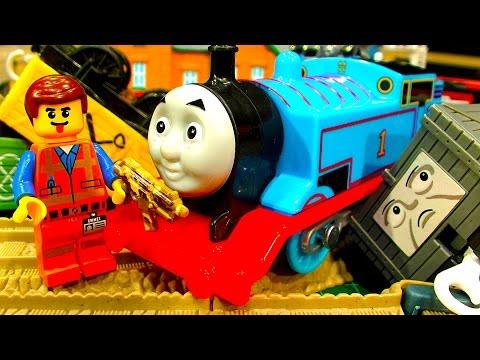 Thomas The Tank & Lego Minifigure Classic Toy Fun Leokimvideo Secrets