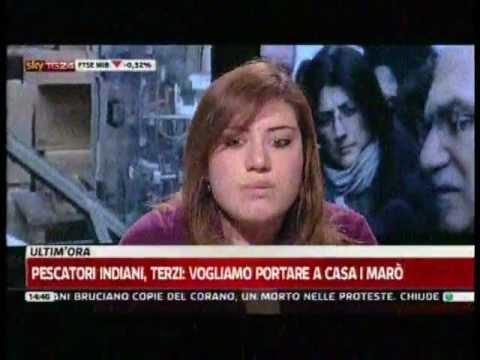 Elena Monticelli – 1^PARTE-Paola Saluzzi  SKY TG24 Pomeriggio del 22FEB2012 ore 14,35