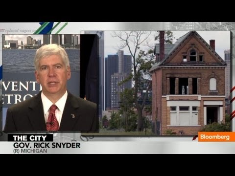 Bailouts Shouldn't Be on the Table for Detroit: Michigan Governor Rick Snyder