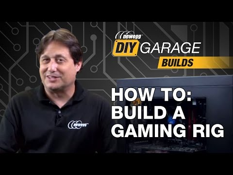 Newegg DIY Garage: How to Build a Gaming PC - i7-6700, 850 EVO, & GTX 970