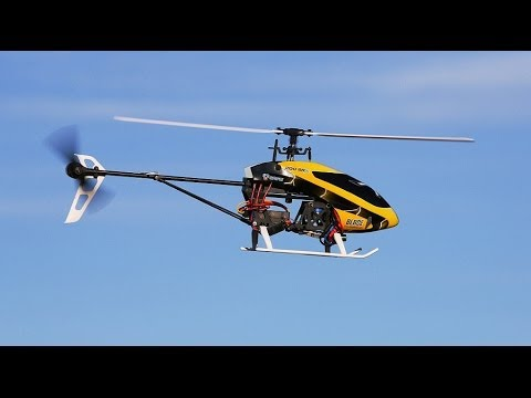 Blade 200 SR X RC Helicopter Review and Action Video