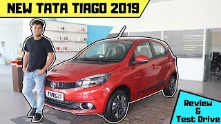 New TATA TIAGO 2019 : most detailed Review | improved Safety features | Projector Headlamps