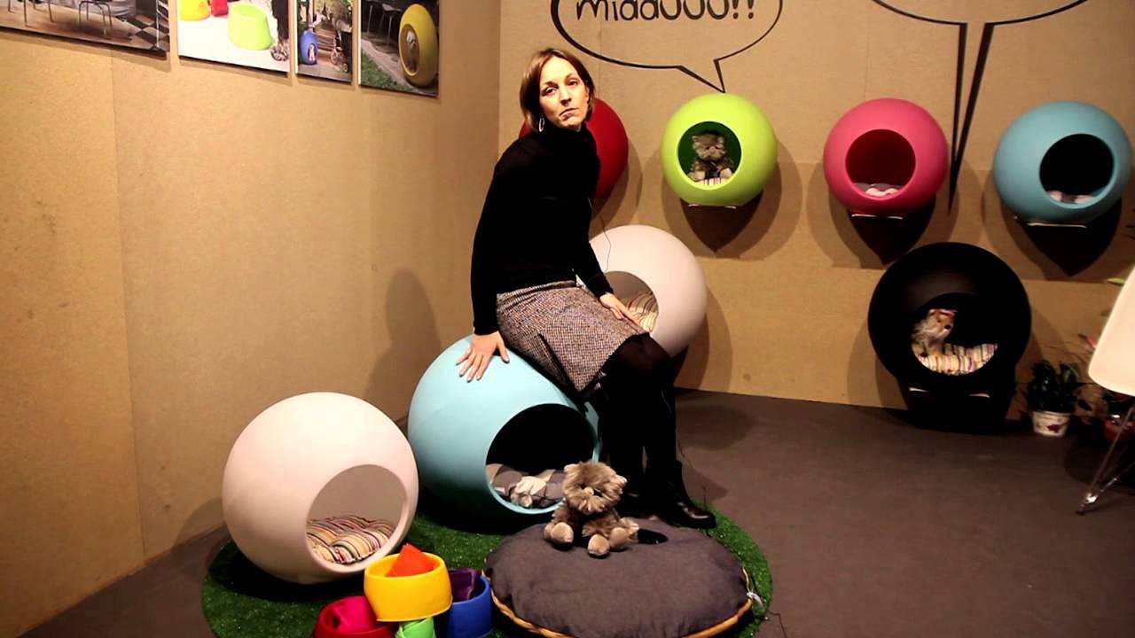 Muebles de dise o para mascotas singular pets youtube - Muebles para mascotas ...