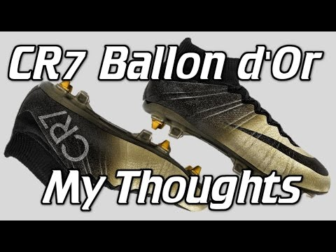 Ballon d'Or Rare Gold Nike CR7 Mercurial Superfly 4 – My Thoughts