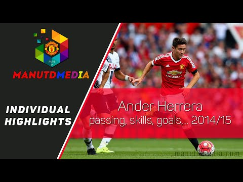Ander Herrera skills, passing, assists, goals,.. Manchester United 2014/15