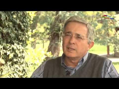 Exclusiva entrevista de Jaime Bayly a Álvaro Uribe Ex-Presidente de Colombia. HD 2013