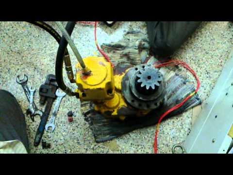 Hydraulic motor youtube Hydraulic motor testing