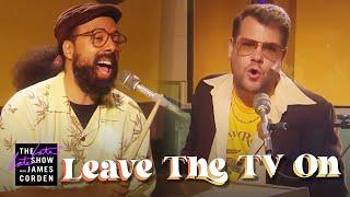 Download lagu 'Leave the TV On' - Silk Sonic Parody