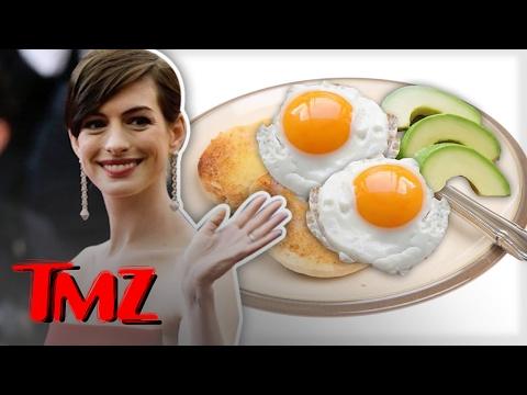 Anne Hathaway Breakfast Diva!! | TMZ thumbnail