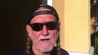 Watch Willie Nelson London video