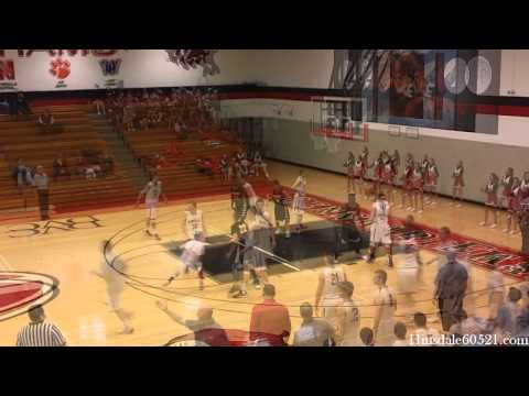 Hinsdale Central Basketball Highlights vs. Andrew
