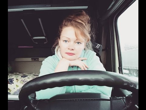 Trucking Girl & truckers life one mini bus and more problems