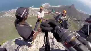 Abseil off Table Mountain in Cape Town, South Africa