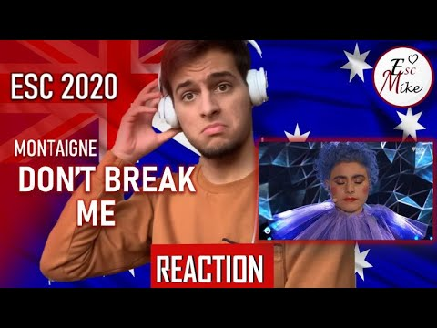 Eurovision 2020 - Australia [REACTION] - Montaigne - Don't Break Me