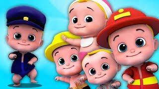 Kids TV Español Latino - cinco pequeños bebés | Canciones Infantiles | Five Little Babies Song