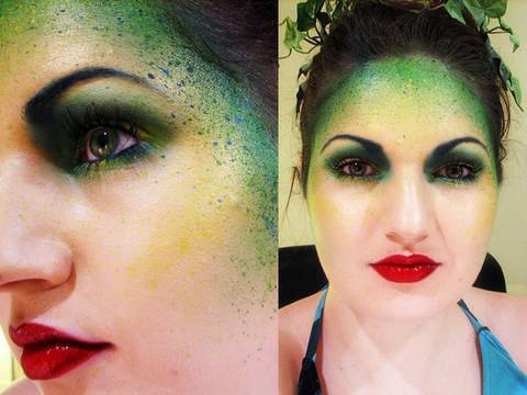 Forest Fairy Makeup for Halloween