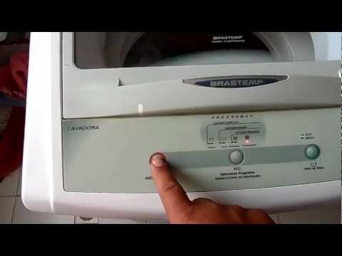 Lavadora Brastemp não inicia programa - lavadora não liga