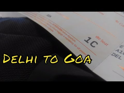Go Go GOA! Air India Trip Report - Delhi - Goa A320 (Economy class)