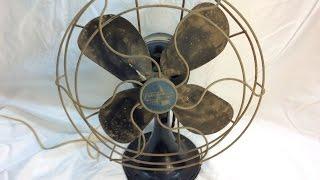 1949 Emerson Desk Fan Restoration - Part II (Disassembly)