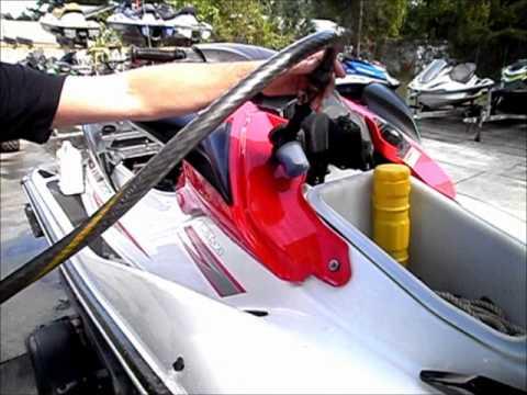 jet ski hose hook up