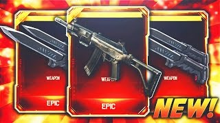GALIL AND BALLISTIC KNIFE SUPPLY DROP OPENING! - BLACK OPS 3 NEW DLC WEAPONS! (BO3 NEW DLC Weapons)