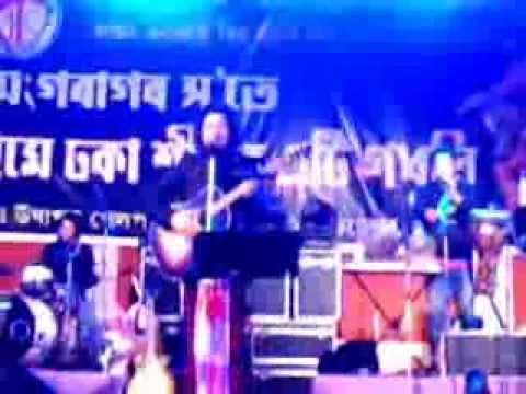 NA aaye ho..Na aaoge...Papon Live at Moran on 16 DEC2013...