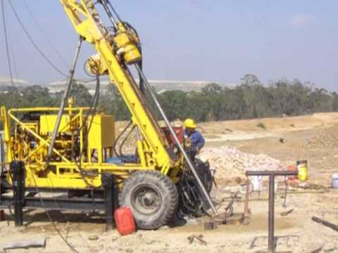 Crown Mines - Drilling for Gold - Johannesburg Gold Exploration - Diamond Drilling