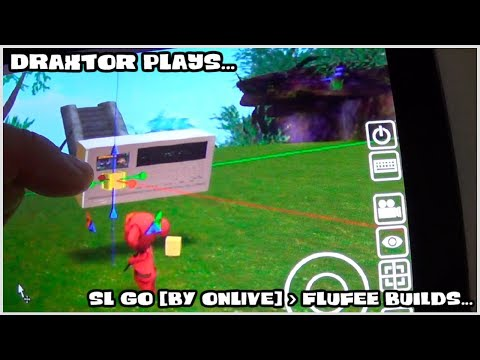 Draxtor plays: SL GO [by OnLive] = Flufee builds...