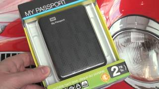 Western Digital My Passport 2TB Unboxing and Review