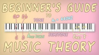 A Beginner's Guide to Music Theory