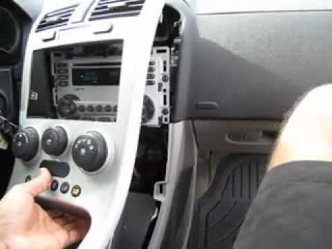 Factory Car Stereo Removal 2006 Chevrolet Equinox