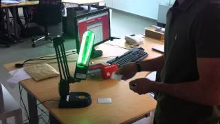 Arduino LED Lamp Controlled with RFID Tags