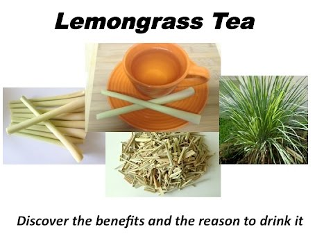 Lemongrass infusion tea. Health benefits.