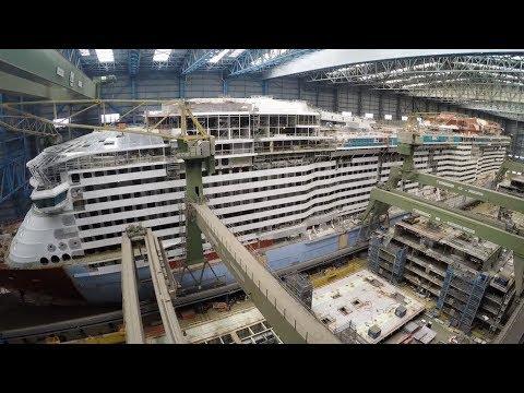 Spectrum of the Seas reaches latest construction milestone