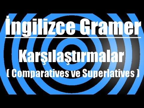 İngilizce'de karşılaştırmalar ( Comparatives ve Superlatives )