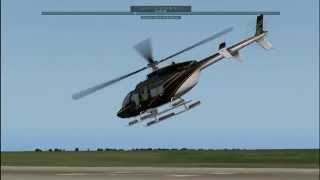 DreamFoil Creations Bell 407, demo/test flight