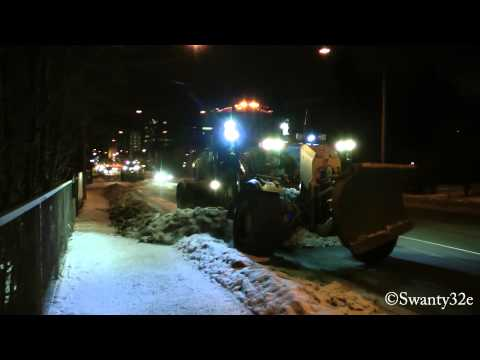 Cat 140M Snow Removal