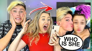 I Let My GIRLFRIEND Search My PHONE! *Caught Cheating*