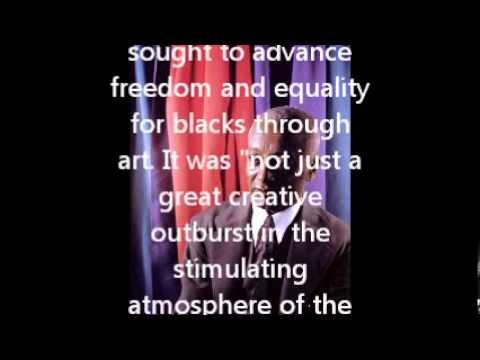The Harlem Renaissance - Alain LeRoy Locke