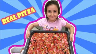 Kids Make a Pizza Funny Fun Pizza Song | Foods for Kids