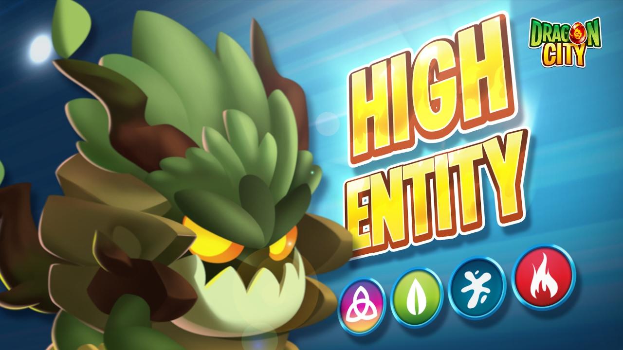 The High Entity Dragon - Dragon City
