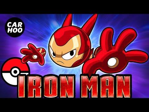 What If Iron Man Was A Pokemon 【Marvel's Avengers Infinity War Parody】